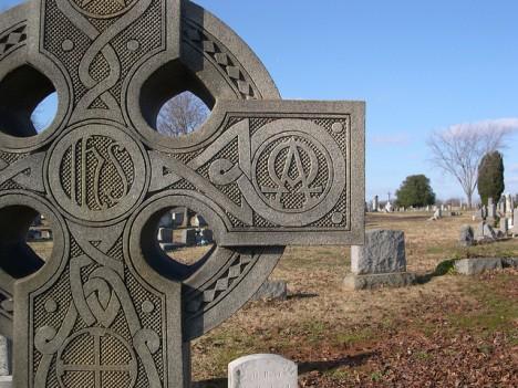 grave symbolism alpha omega 1