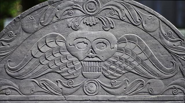 grave symbols winged skull 1