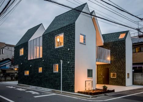 modular home corner view
