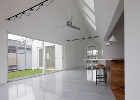 modular home interior slice