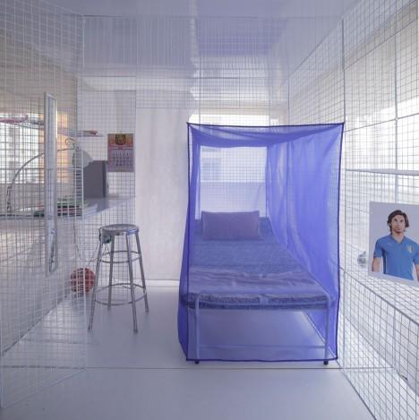 modular sleeping bed space