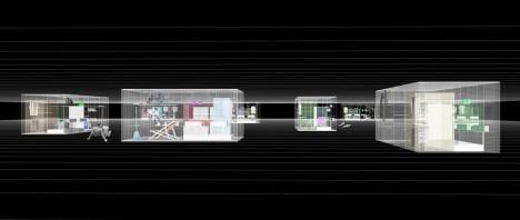 modular space visualizatoin