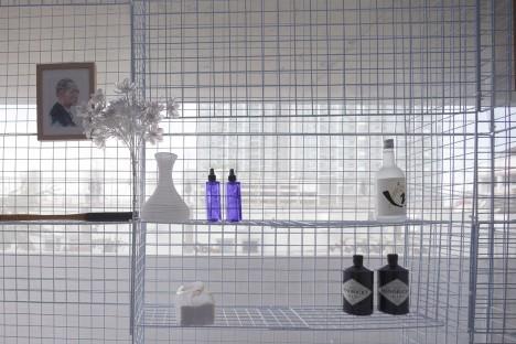 modular wire shelving