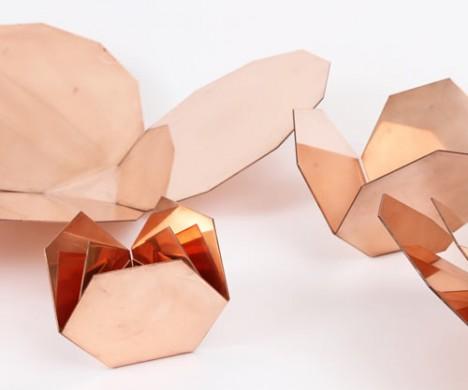 nesting copper bowls
