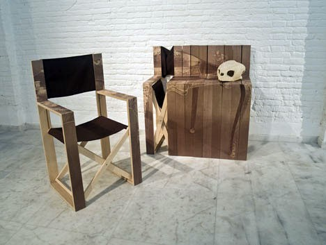 nesting director chairs