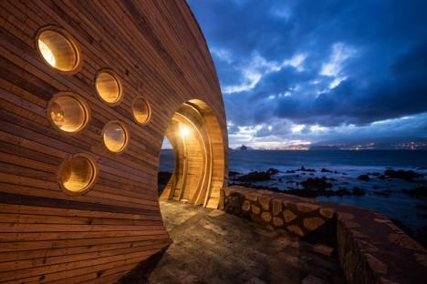 sculptural wooden bar 8