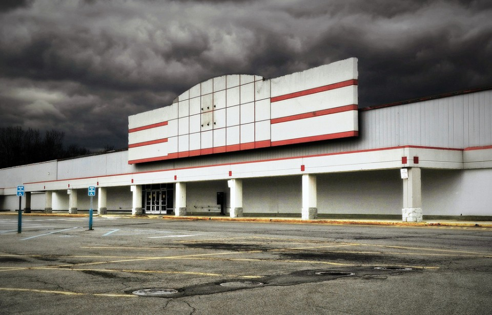 Blue Lights Out 10 Closed Abandoned Kmart Stores