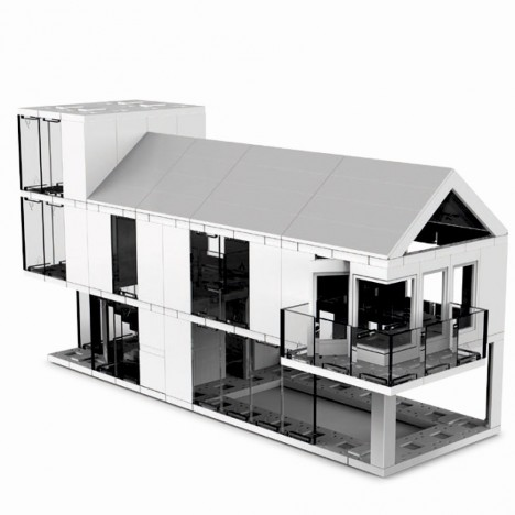 Modern Architecture Lego arc kit: design and build your own miniature architecture | urbanist