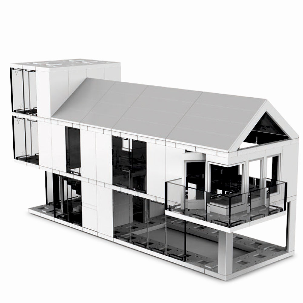 Arc kit design and build your own miniature architecture for Build your own modern house