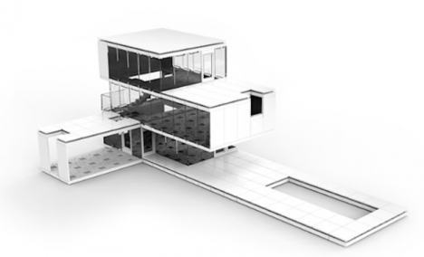 Arc kit design and build your own miniature architecture urbanist - Architecturally designed kit homes ...