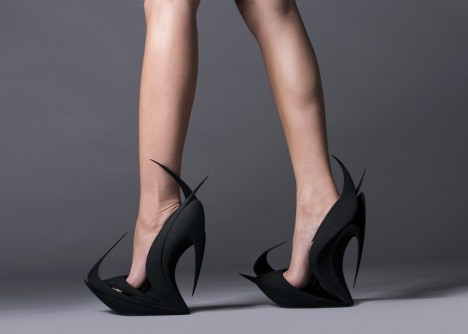 architectural fashion 3d footwear 1