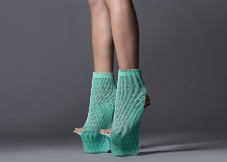 architectural fashion 3d footwear 3