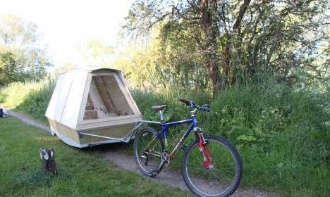 bike bed trail
