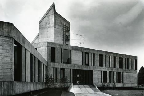 cruel concrete jesuit cloister