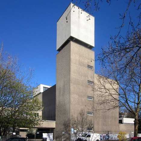 cruel concrete st. agnes church