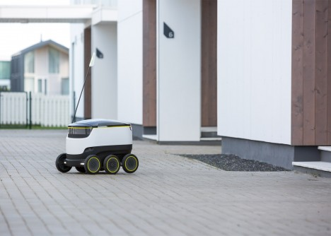 drone bot delivery vehicle