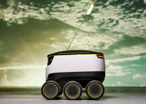 drone robot delivery service