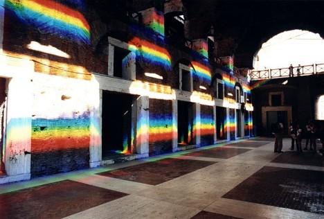light art rainbow