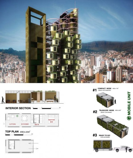 mobile home tower design