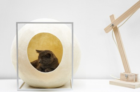modernist cat ball