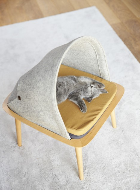 modernist kitty stool