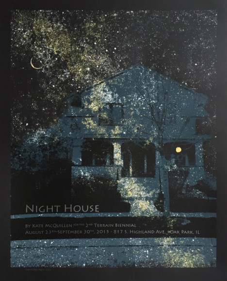 night house poster project