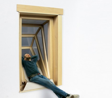 Your own slice of sky pop out windows for urban for Pop up window design
