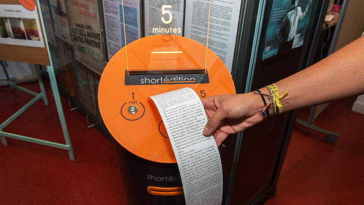 short story dispenser