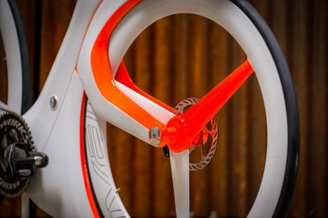 smart bike powered wheel