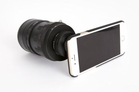 smartphone SLR mount 2