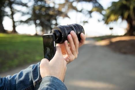 smartphone SLR mount