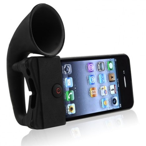 smartphone acoustic amplifier