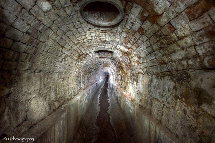 tasmania sewer tunnel exploration