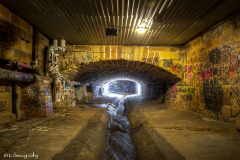 tasmanian tunnel art