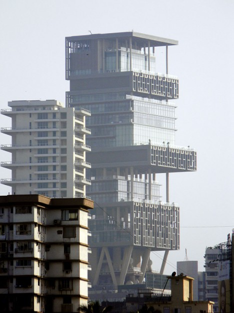 ugly architecture antilia 2