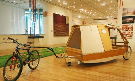 water bed on wheels