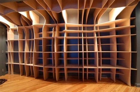 wood built in laser cut 2