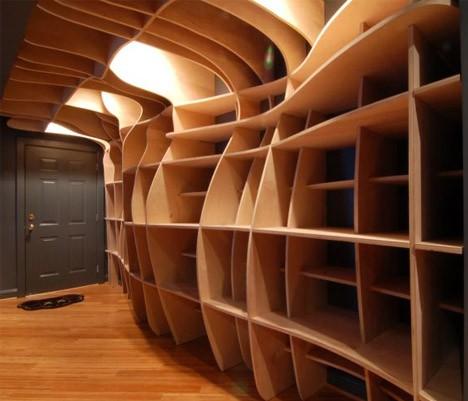 wood built in laser cut