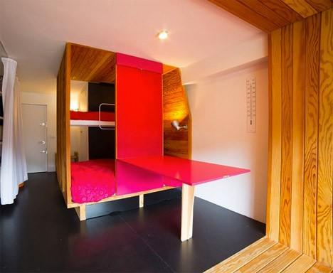 wood built ins bedroom 2