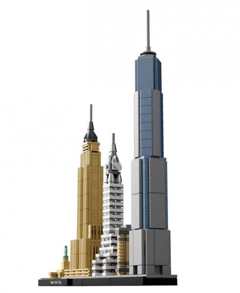 Lego Architecture New York City  Skyline Collection Building Blocks