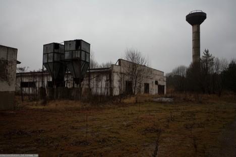 abandoned russia pig farm