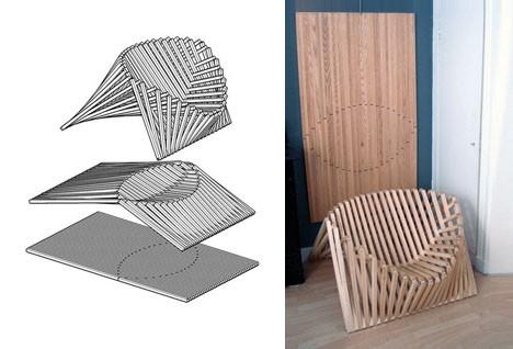 chair flat pack