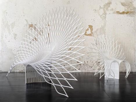 chair peacock 1