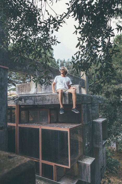 experimental climber urban explorer