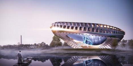 future museums sci fi 2