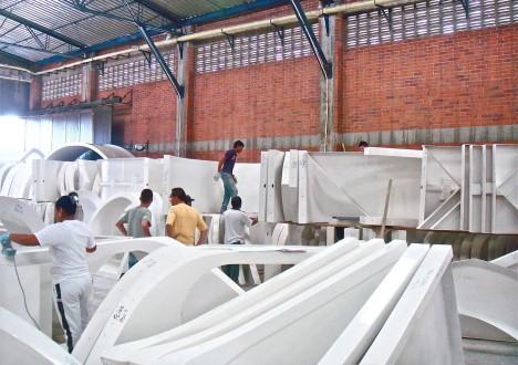 green module warehouse