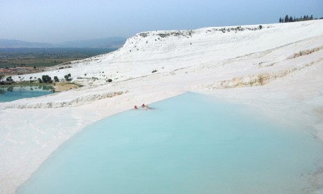 hot springs pamukkale