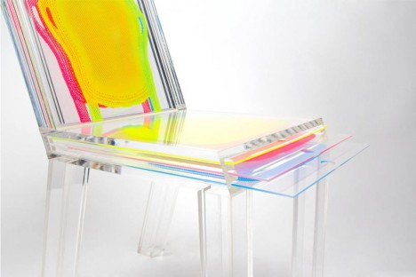 layer custom chair color