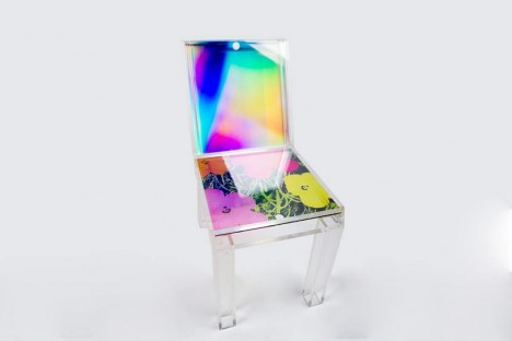 layer hologram pop art