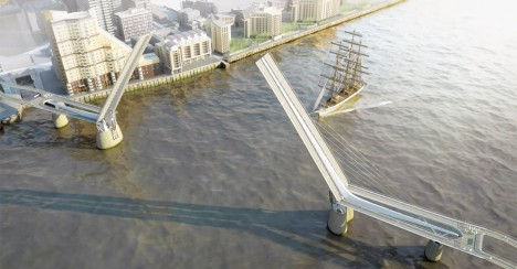 london brige raised